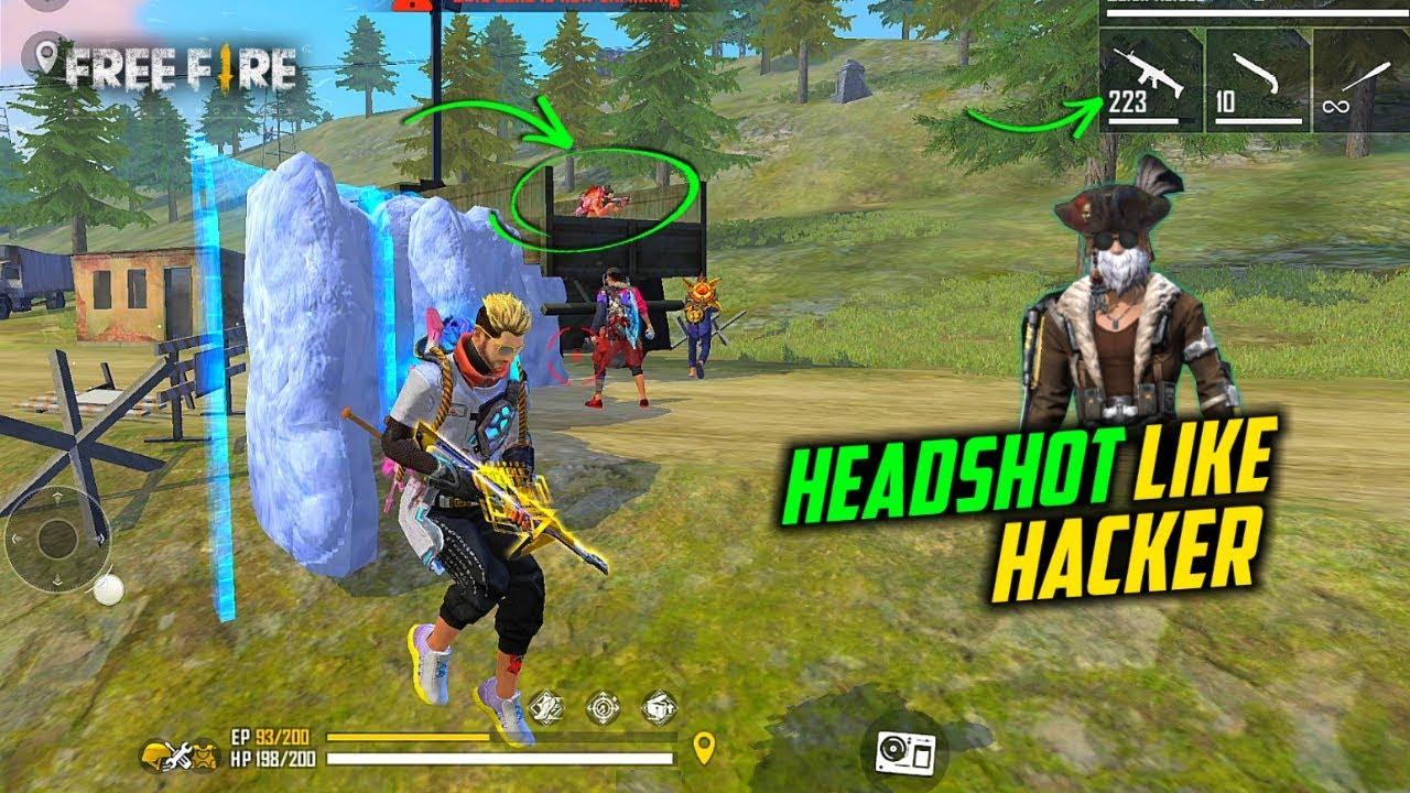 Ajjubhai OverPower HeadShot Like Hacker Gameplay with Cupid Scar - Garena Free Fire