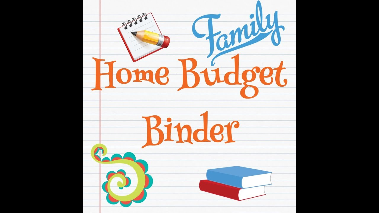 My Home Budget/Family Binder.. - YouTube