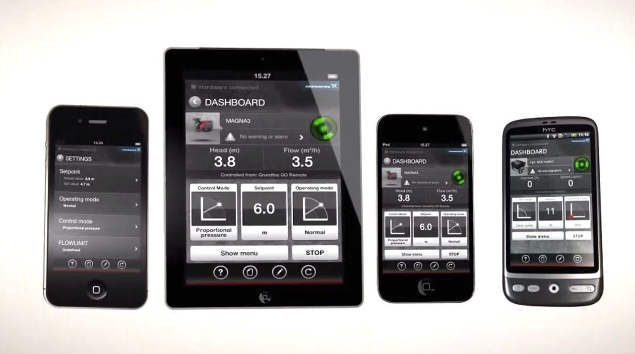 The innovative Grundfos GO – manage your pumps more efficient with the  Grundfos app | Grundfos Pumps
