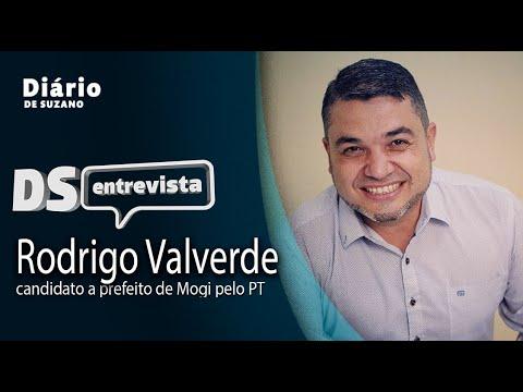DS Entrevista Rodrigo Valverde, candidato a prefeito de Mogi pelo PT