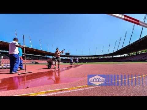 Leichtathletikanlage Stadion Letzigrund Zürich