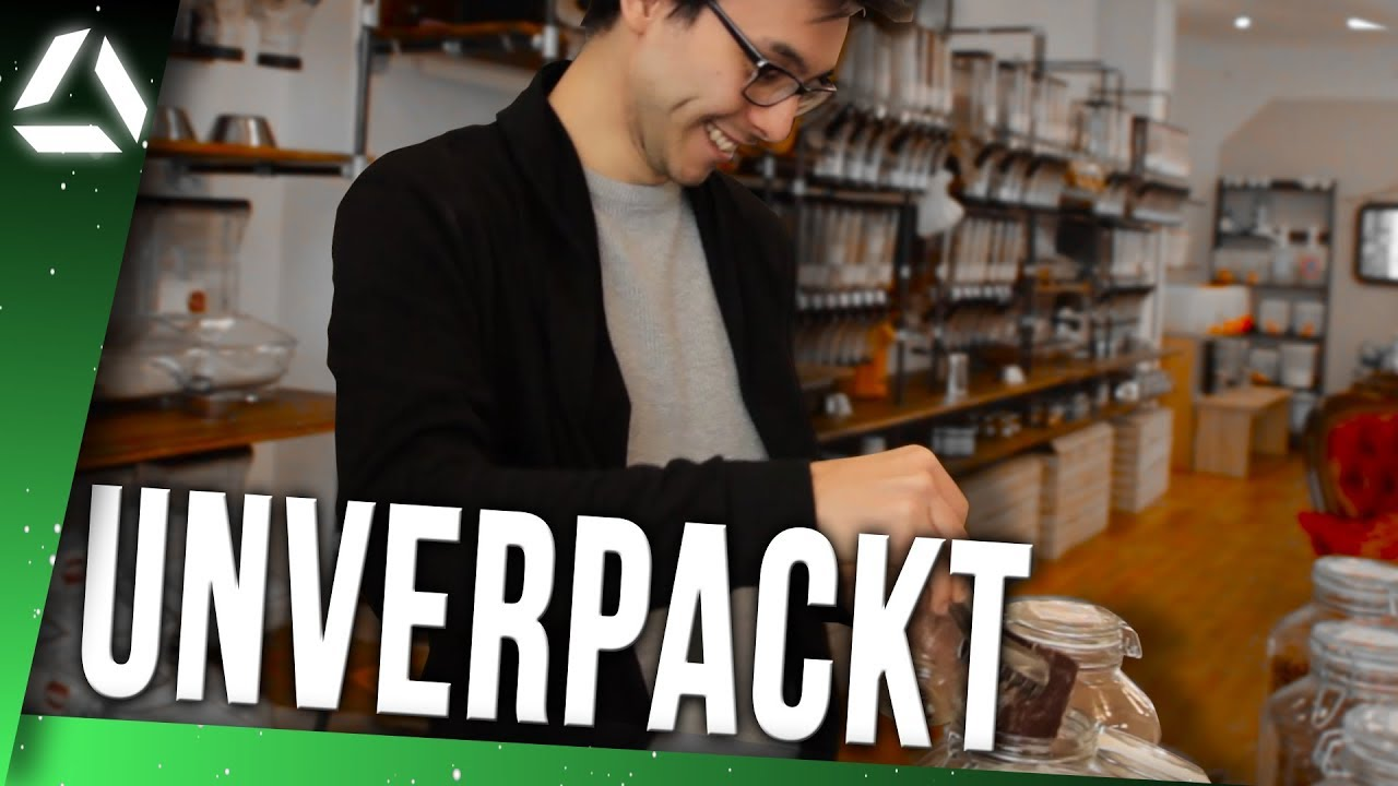 UNVERPACKT LADEN so gehts // Glücklich Unverpackt Essen - YouTube