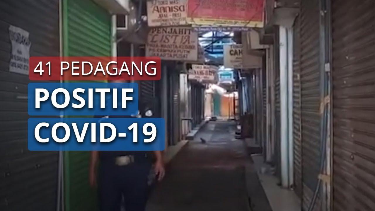 Pasar Cempaka Putih Ditutup Tiga Hari 41 Pedagang Positif Covid 19 Youtube
