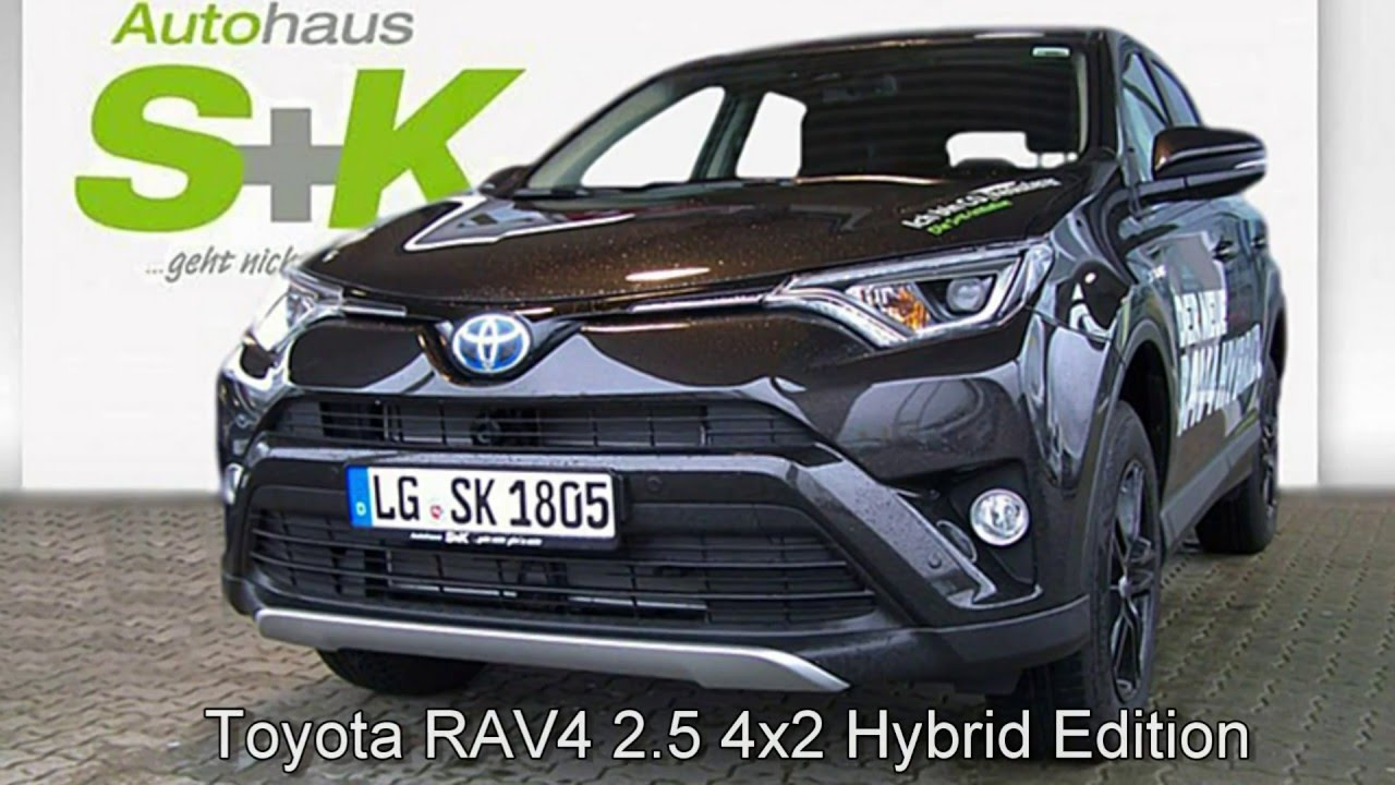 toyota rav 4 2 5 4x2 hybrid edition 001308 ristretto braun autohaus s k l neburg youtube. Black Bedroom Furniture Sets. Home Design Ideas