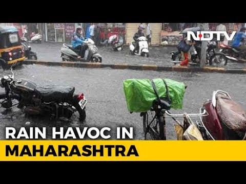 Heavy Rain Expected In Mumbai For 5 Days, Life Paralysed In Maharashtra