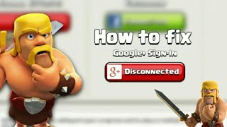 #1 Clash of clans game Google sign problem gmail account problem solved in hindi | by Harsh |