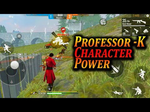 Free fire K Character in Clash Squad Ranked Gameplay - Tamil