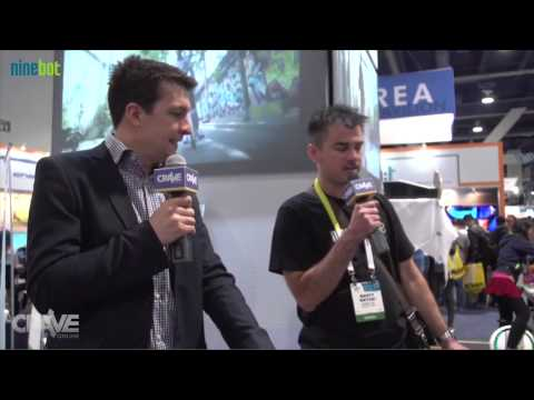 Ninebot reported by CRAVEONLINE on CES 2015