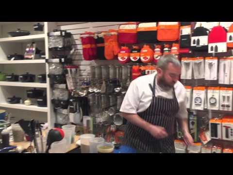Le Creuset Cooking Demo ft. Chef Allen Teuton of Jackacudas