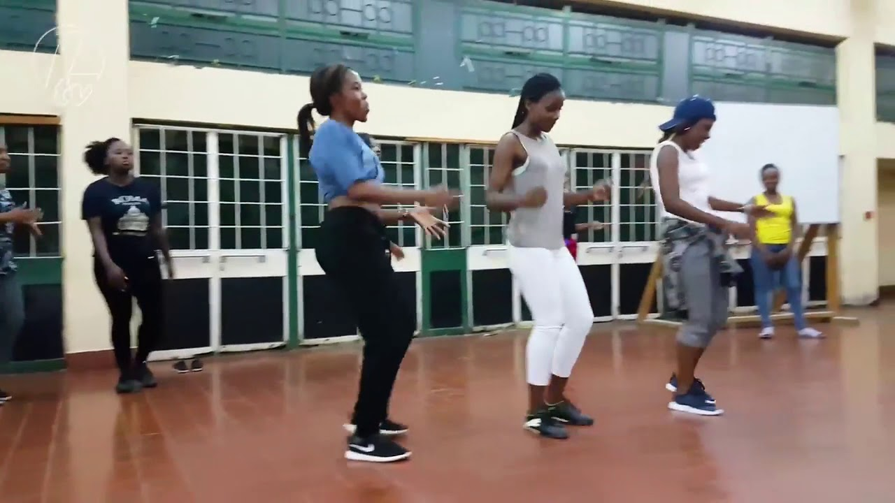 Download Afro Dance Class Zambia Kolewerk dance video / Kolewerk challenge