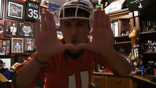 DIEHARD MIAMI HURRICANES FAN REACTS TO WIN OVER NORTE DAME!
