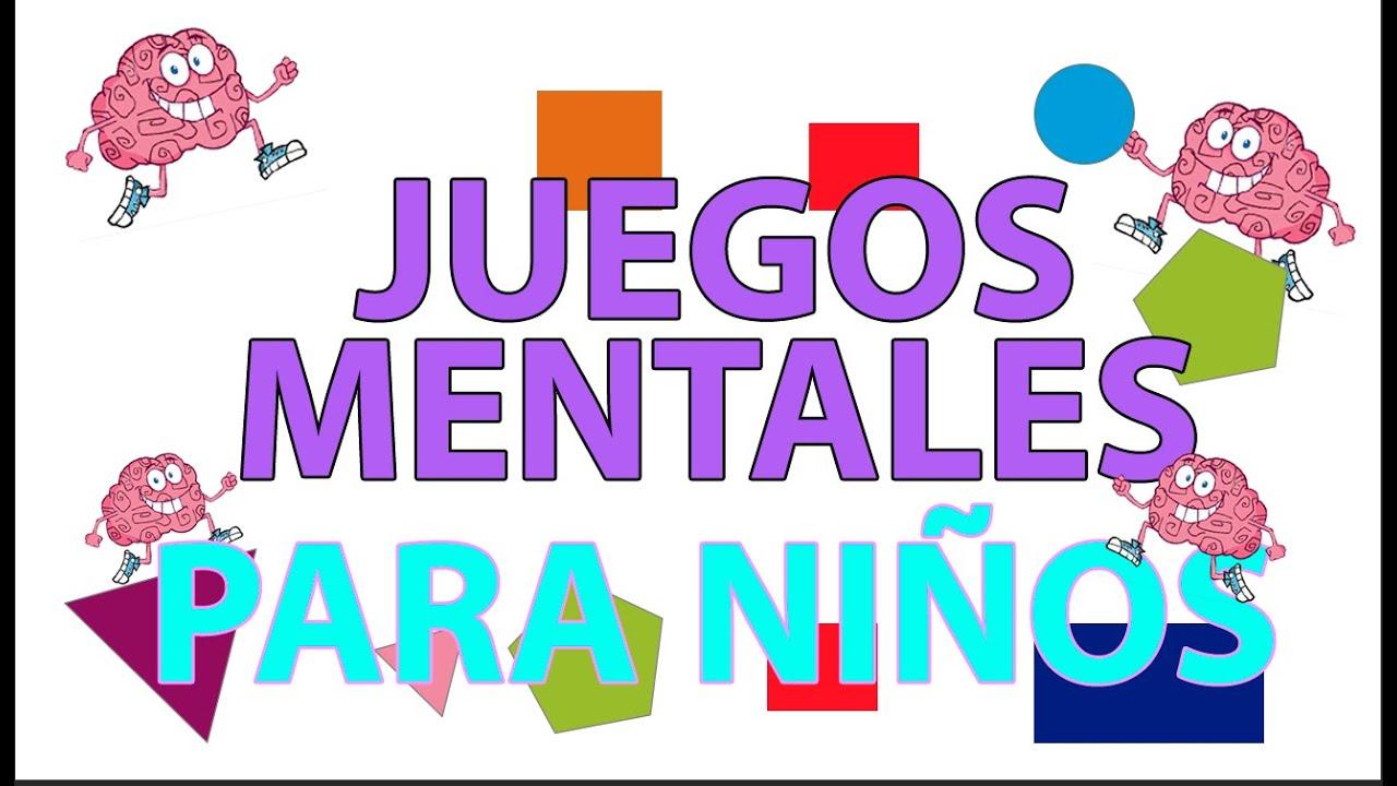 Juegos Mentales Para Niños Juegos Para El Cerebro De Agilidad Mental Youtube