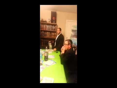 Chai Lifeline Pre dinner Parent Speaks