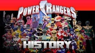 vuclip Power Rangers History