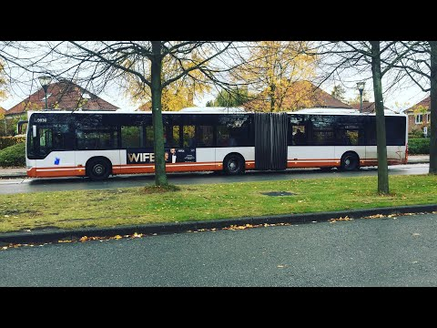 STIB/MIVB -🚌- Metro 1 replacement / Metrópótló (Brussels)