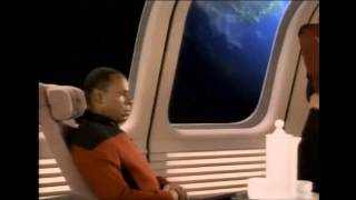 Star Trek DS9 Sisko Meets with Picard