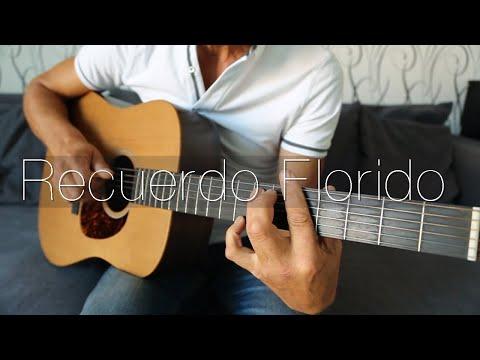 Вальс цветов. Энрико Росси (фрагмент). Гитара.  Recuerdo Florido. Enrico Rossi. Guitar.