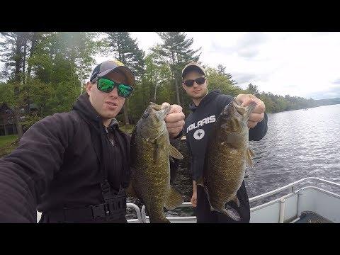Post-Spawn Smallmouth Bass Fishing Great Sacandaga Lake, NY