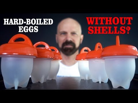 Egglettes Review: No-Shell Hard Boiled Eggs?