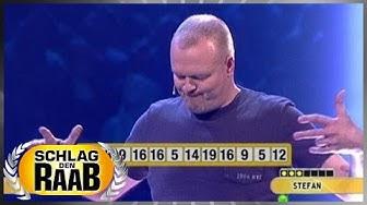 Spiel 8: Zahlenwörter - Schlag den Raab 50