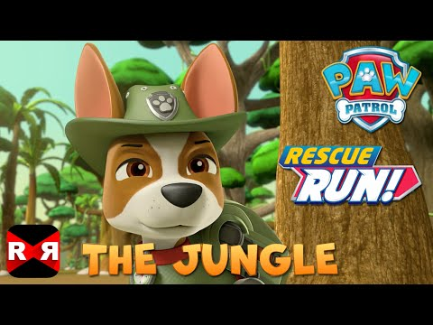 PAW Patrol Rescue Run - The Jungle New Update feat. Tracker & Skye
