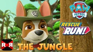 PAW Patrol Rescue Run - The Jungle New Update feat. Tracker & Skye
