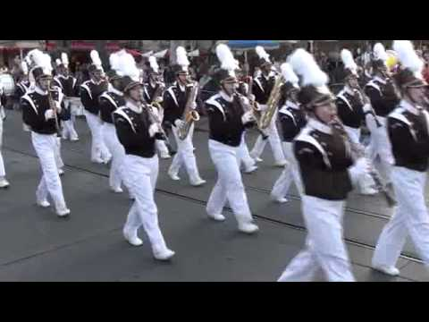 Palmer Marching Band at Disneyland