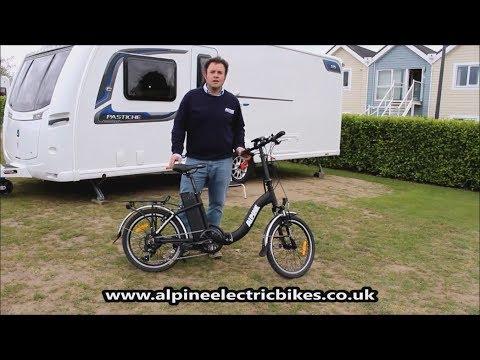 Ebike - Lightweight Compact Folding Electric Bike