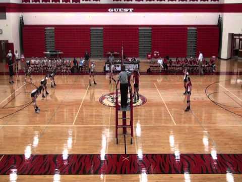 Moon High School Girls Volleyball versus Mount Lebanon