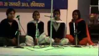 Sanskrit Patriotism Song Competition 20 January 2013 (Sunday) video 6