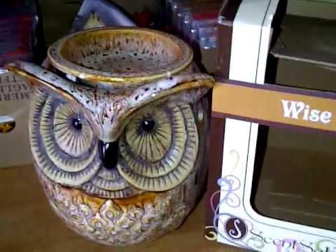 Scentsationals Owl Wax Warmer Youtube