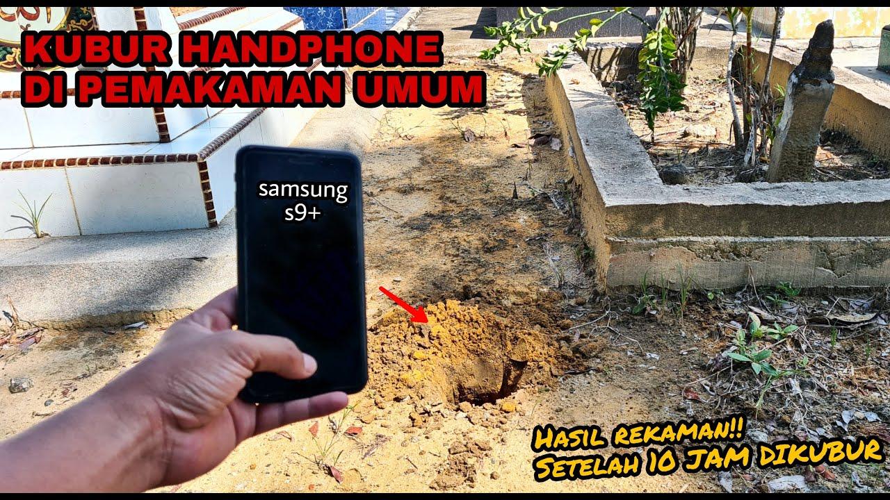 EKSPERIMEN: KUBUR HANDPHONE DI PEMAKAMAN, REKAMAN SUARA SAAT MALAM HARI DIKUBURAN