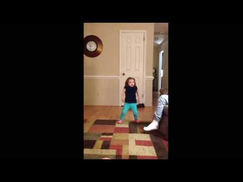 My 2 yr old girl dancing to Don't Drop That Thun Thun Lyrics