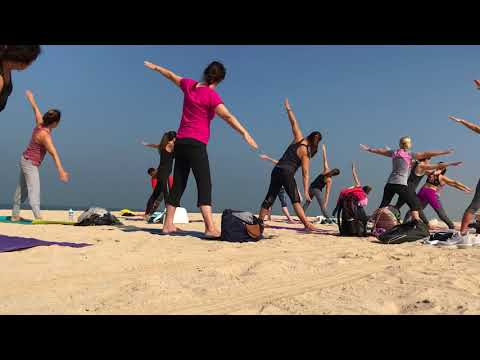 Beach Yoga-Part 2 Standing Series