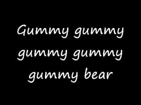 I'm a Gummy Bear (lyrics)