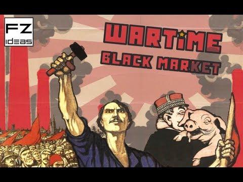 WARTIME BLACK MARKET - Auction board game - FZ IDEAS