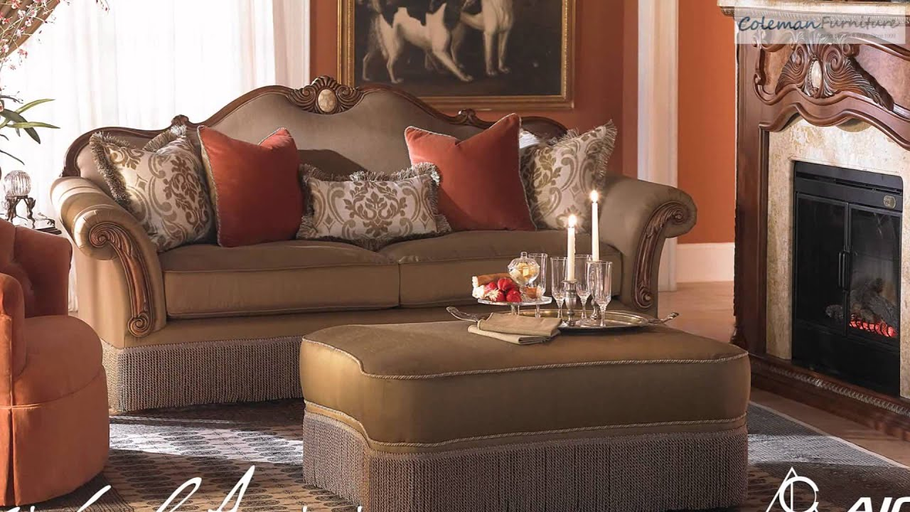Cortina living room collection from aico furniture youtube - Aico living room furniture collection ...