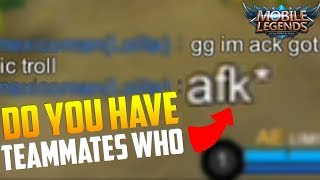 HOW TO WIN WHEN TEAMMATE AFK ON PURPOSE! MOBILE LEGEND HARLEY RANKED GAMEPLAY   GLORIOUS LEGEND