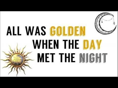 When The Day Met The Night (Lyrics)