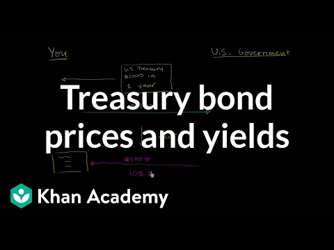 Treasury bond prices and yields | Stocks and bonds | Finance & Capital Markets | Khan Academy