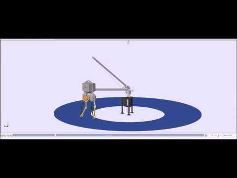 Hybrid Zero Dynamics Control of ATRIAS Bipedal Robot