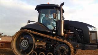 Challenger Stealth 775E ploughing in Kent