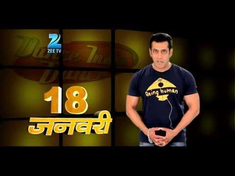 Dance India Dance Season 4 Promo - Salman Khan on the set of DID