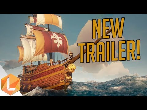 Text Chat, Scuttling, and NEW SHIPS! -- Sea of Thieves Trailer Breakdown