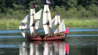 royal william rc sailing ship