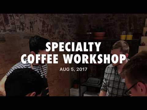 Specialty Coffee Tasting Workshop #1 - RTC Day 19/923