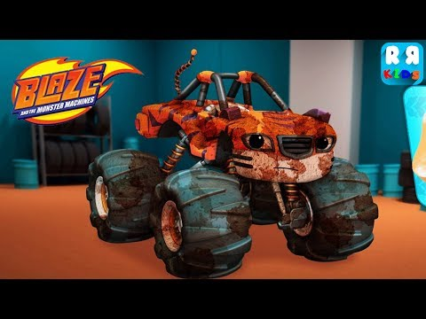 Playtime With Blaze And The Monster Machines - Play And Learn With The Dirty Stripes