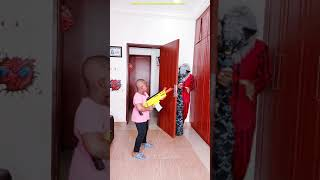 FUNNY PRANK Try not to laugh Chased By A Werewolf Nerf War #shorts GHOST Prank 3am USA tik tok 2021