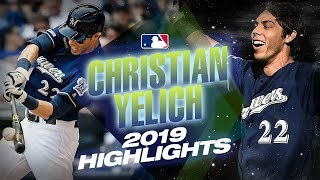 Christian Yelich 2019 Highlights - NL MVP candidate's season cut too short