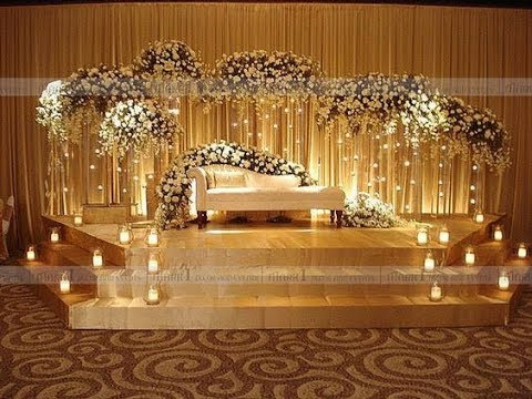 marriage-hall-decoration-with-flowers-and-balloons